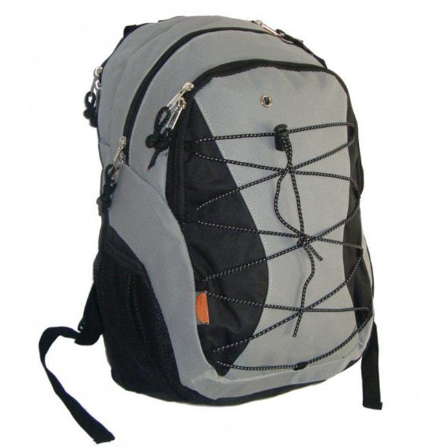 K-Cliffs Backpack With 3 Compartment & 1 CD Pouch