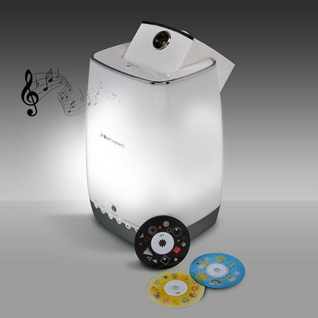 Project Nursery Sight and Sound Projector with Bluetooth