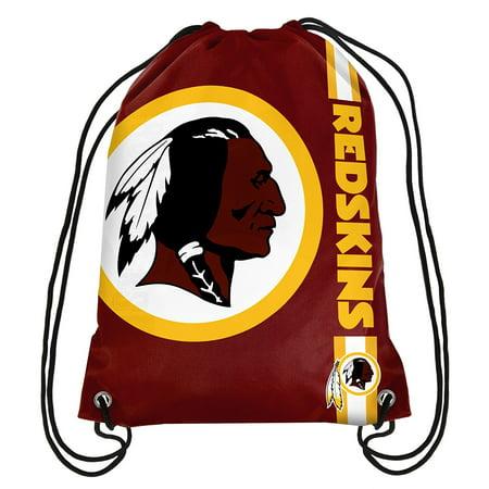 Logo Drawstring Backpack - Washington Redskins Big Logo Drawstring Backpack