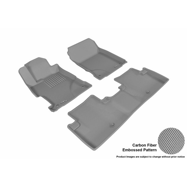 3D MAXpider 2013-2017 Acura ILX Front & Second Row Set All