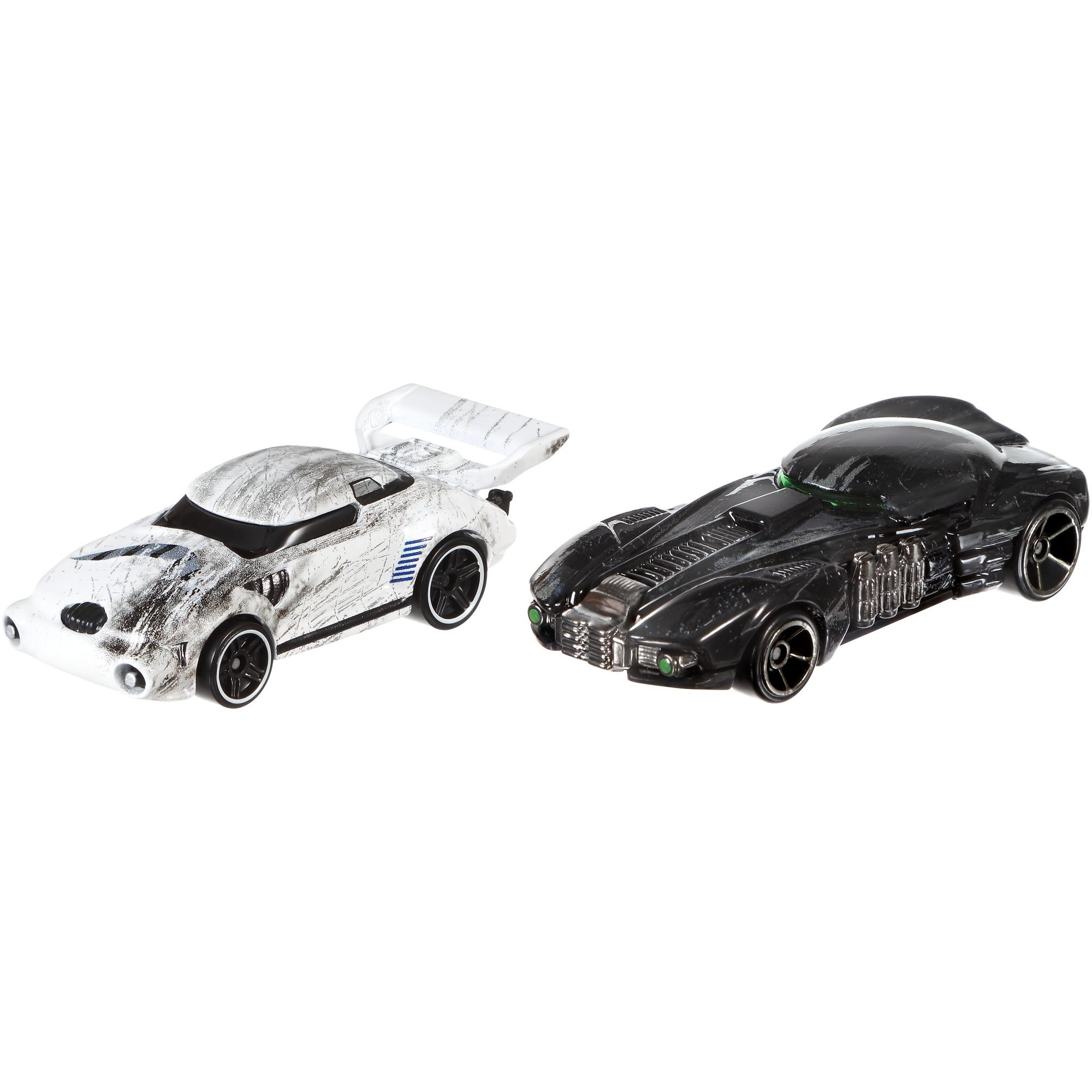 Hot Wheels Star Wars Rogue One Character Car Stormtrooper and Death Trooper 2-Pack by Mattel