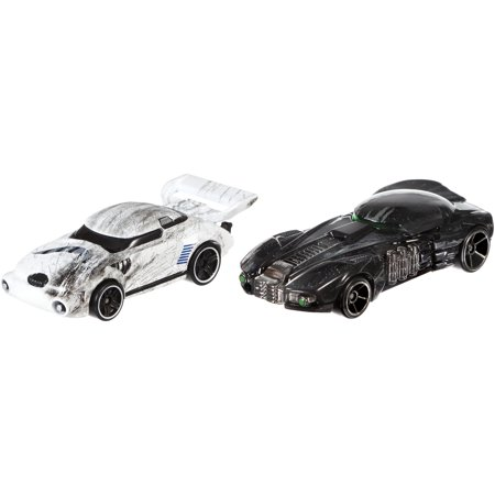 Hot Wheels Star Wars Rogue One Character Car Stormtrooper And Death Trooper 2 Pack