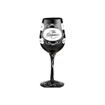 95 & Sunny Bottoms Up 15 Oz. Wine Glass by