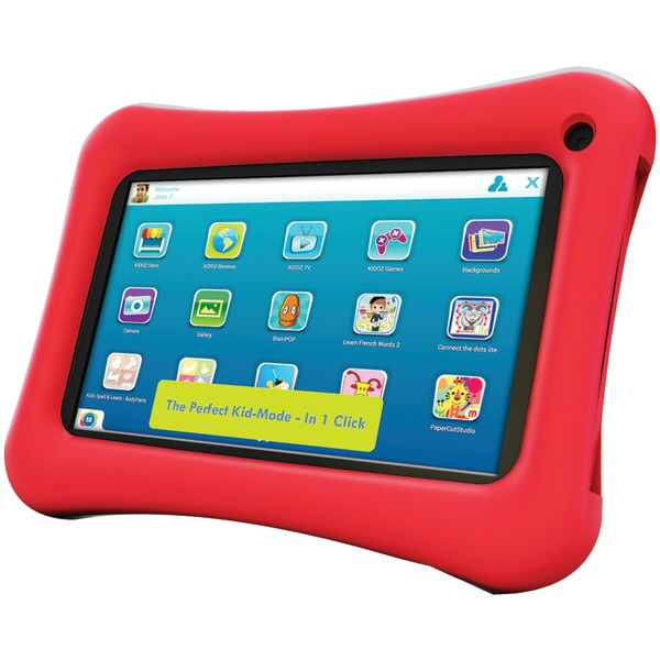 "Hipstreet 9DTB7A-8PPRD 9"" PlayPal Plus Dual-Core Tablet"