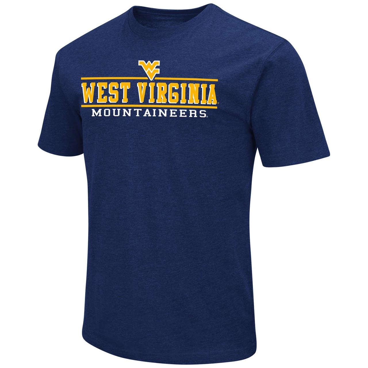 West Virginia Mountaineers Adult Soft Vintage Tailgate T-Shirt  - Navy