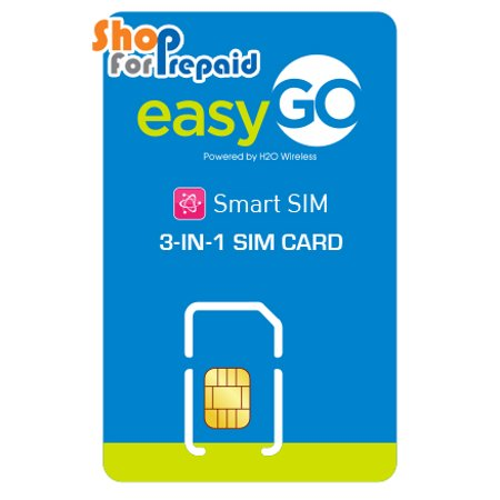 EasyGo Wireless GSM Triple SIM (3-in-1) (AT&T Network) ()