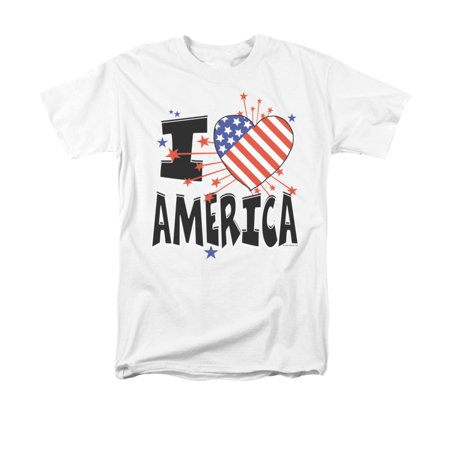 Star Sayings (I Heart America Stars and Stripes Funny Humorous Saying Adult)