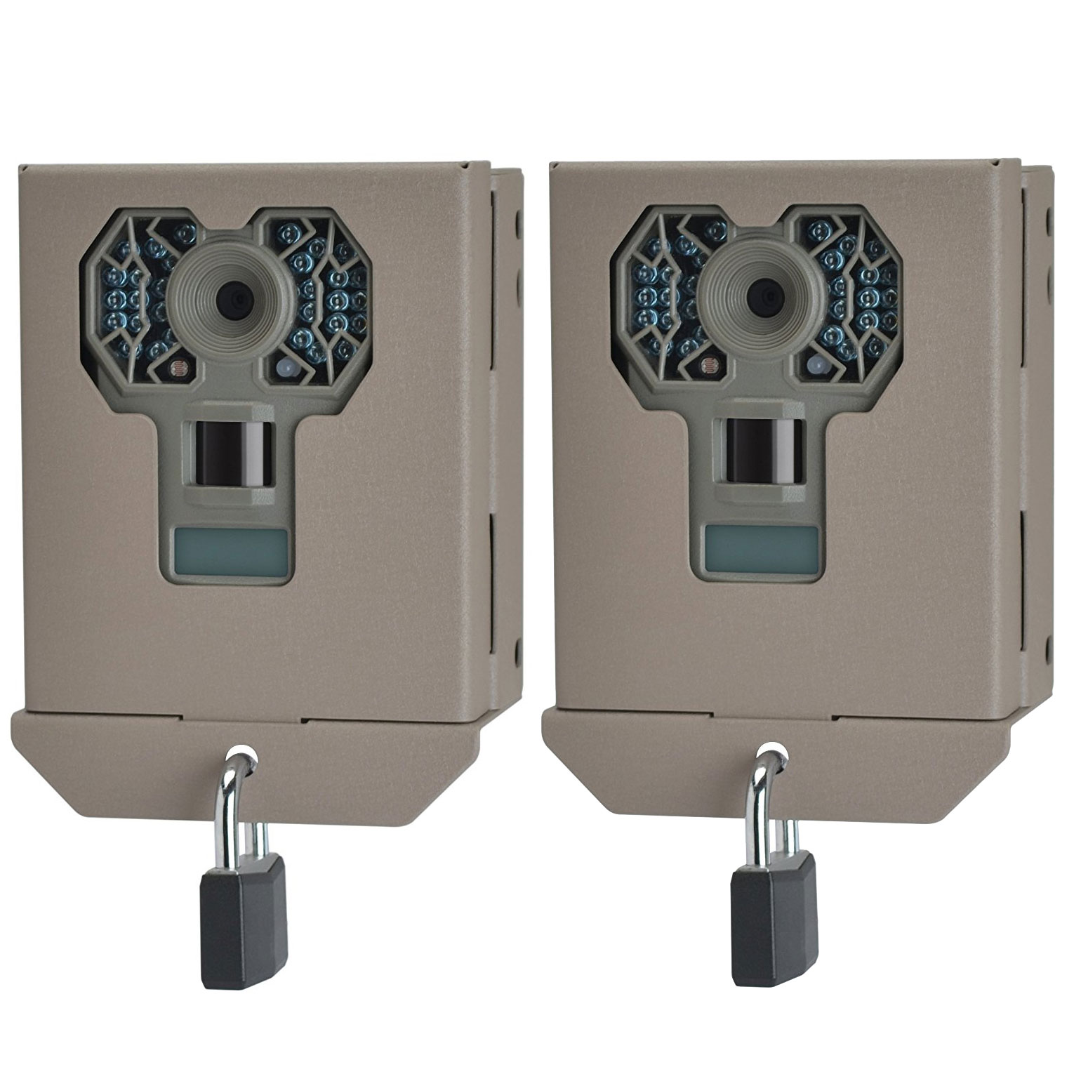 Stealth Cam Steel Security Trail Game Camera Bear Box for G Series Cams (2 Pack) by Stealth Cam