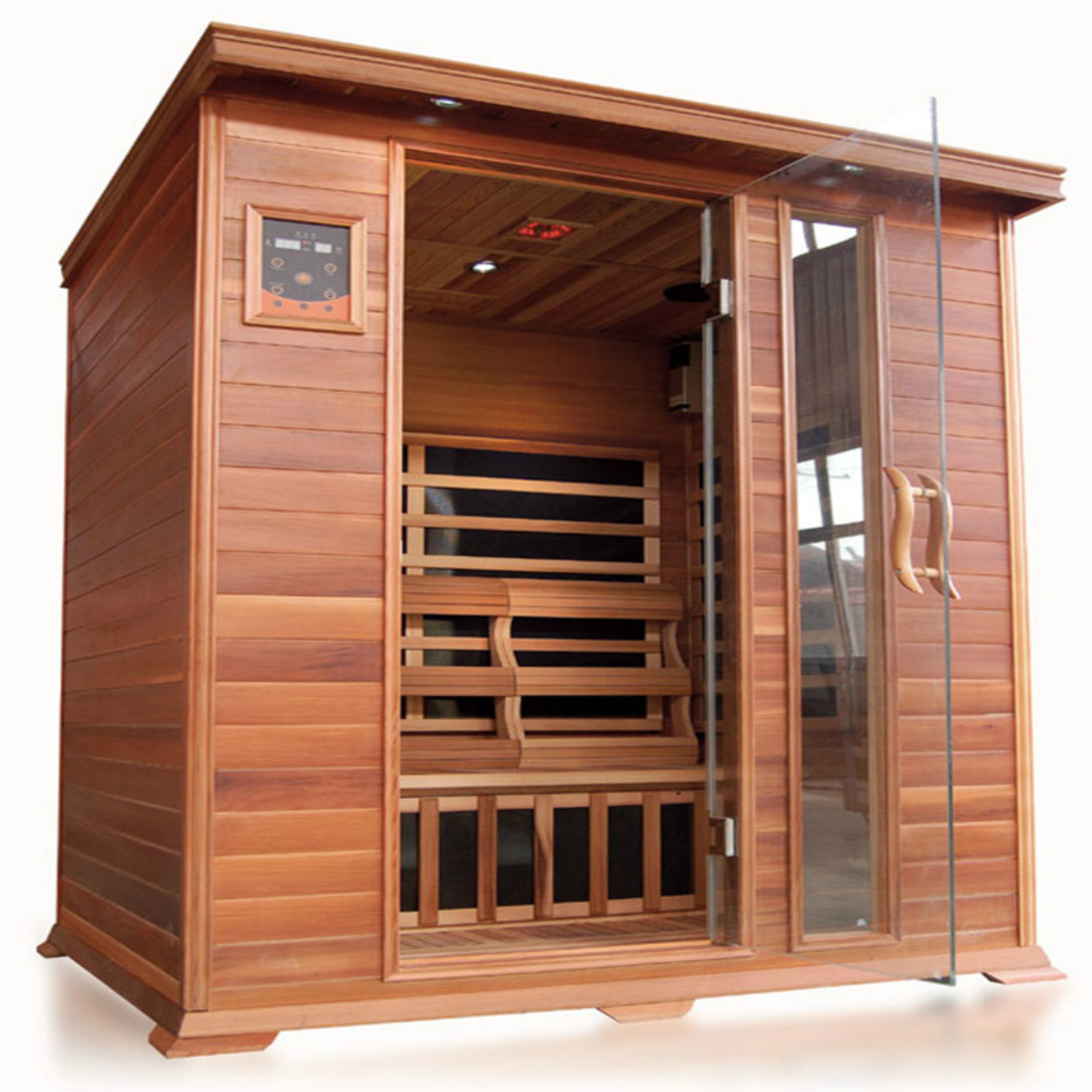3-Person Infrared Cedar Sauna by