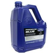 Polaris New OEM Synthetic Premium Blue 2-Cycle Oil, 1 Gallon, 2875036, 2882202