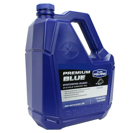 Oem Cycle - Polaris New OEM Synthetic Premium Blue 2-Cycle Oil, 1 Gallon, 2875036, 2882202
