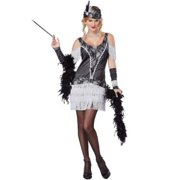 California Costumes Razzle Dazzle Adult Costume 1352 Black/Silver