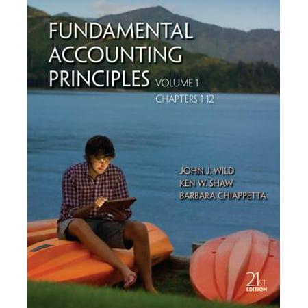 Fundamental Accounting Principles Volume 1 (Chapters