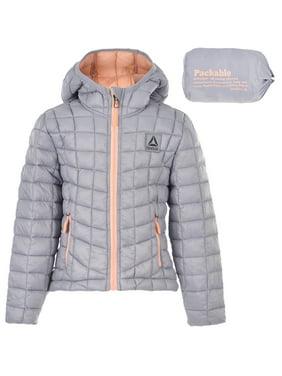 22fcdba68e74 Product Image Reebok Girls  Insulated Hooded Jacket