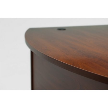 "Bush Business Series C 72"" Right U-Shaped Hutch Desk in Hansen Cherry - image 5 de 8"