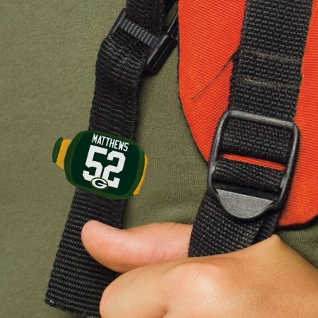 Clay Matthews Green Bay Packers Wincraft Number Stwrap- Bag Accessory - No