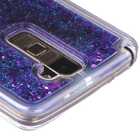 finest selection 39162 22e6a LG Stylo 2 Plus Case, LG Stylus 2 Plus Case, by Insten Hearts/Purple ...