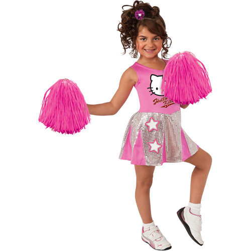 Hello Kitty Cheerleader Child Costume by Generic