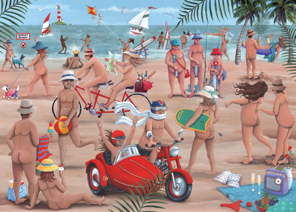 Teens nude beach