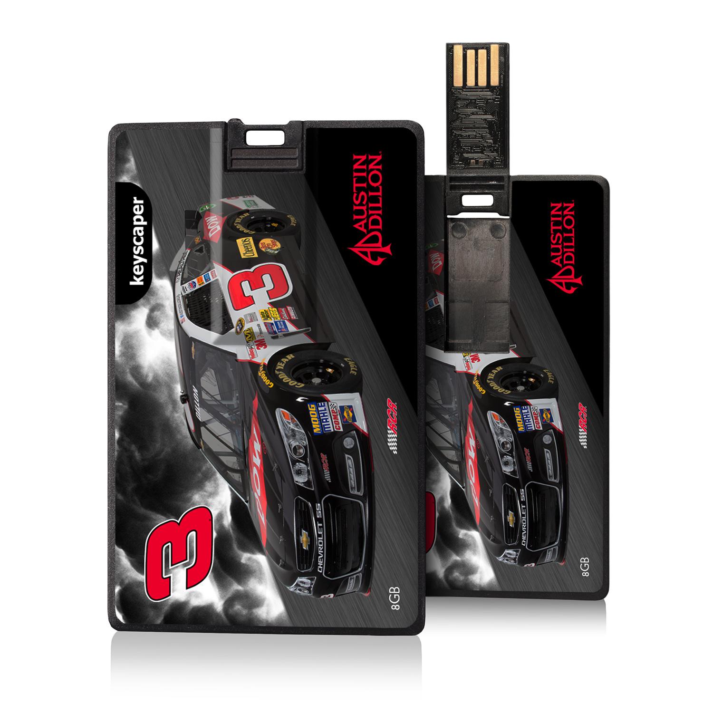 Austin Dillon 8GB Credit Card Style USB Flash Drive NASCAR