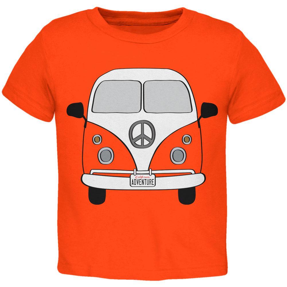 Halloween Travel Bus Costume Camper Adventure Toddler T Shirt