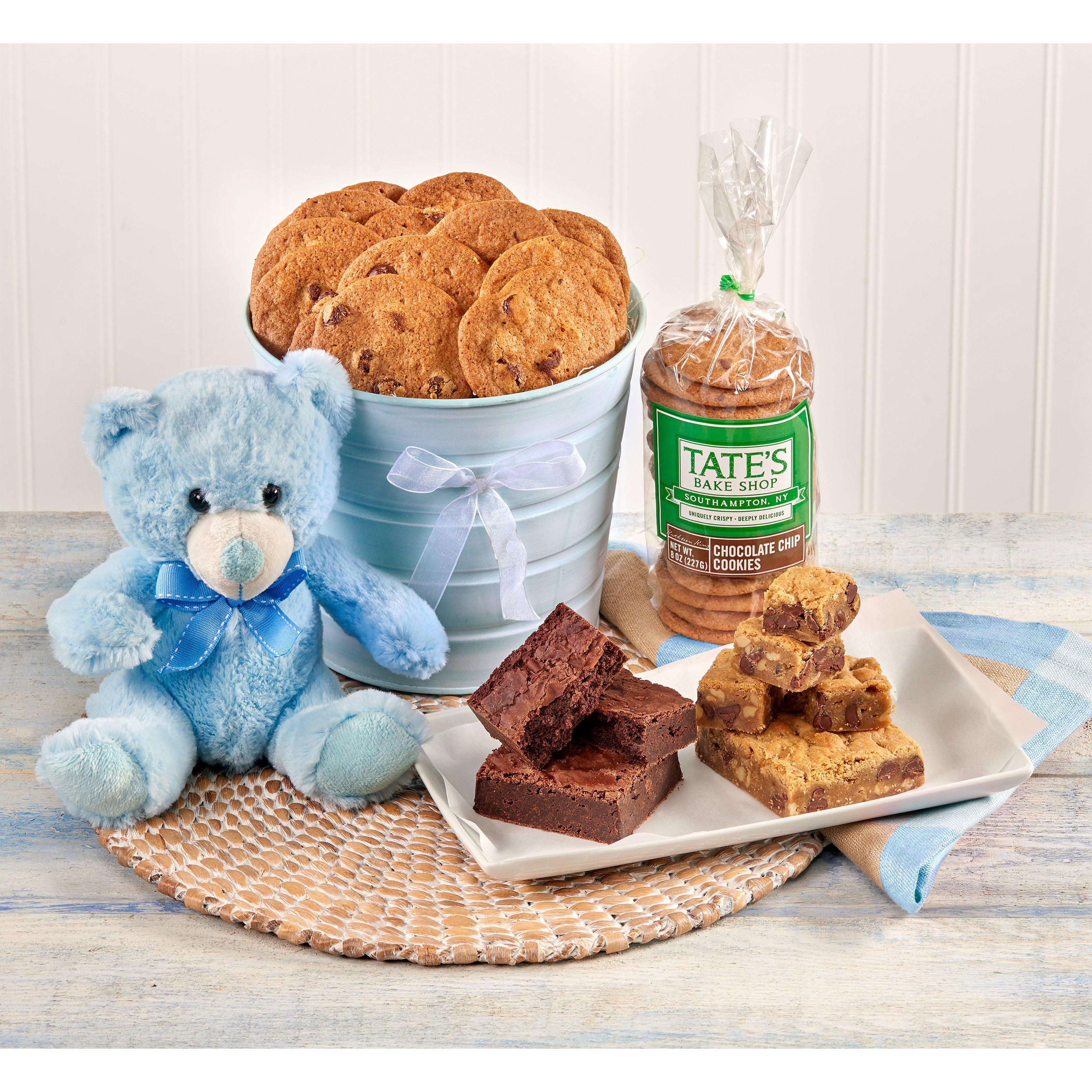 Tates Bake Shop Congratulations - Its A Boy! Gift Basket