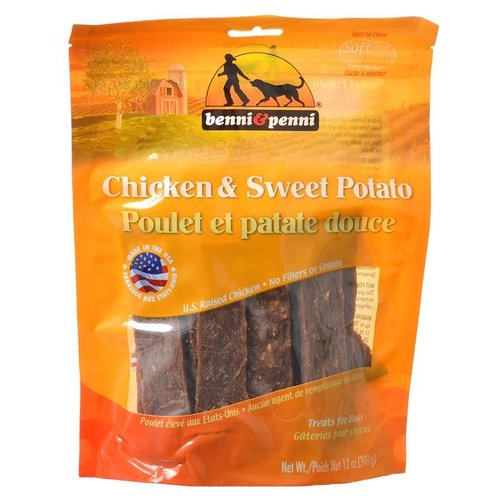 Benni & Penni Benni and Penni Chicken and Sweet Potato Dog Treats 12 Ounce