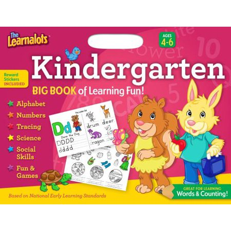 The Learnalots Big Book of Learning Fun!, Kindergarten: Great for Learning Words & Counting!