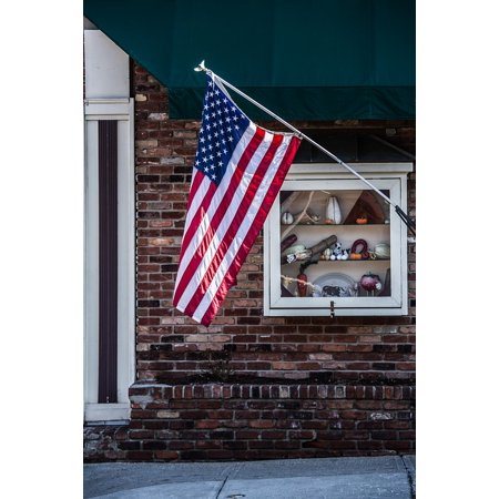 Framed Art For Your Wall Flag Summer Patriot Patriotic Red White And Blue 10x13 Frame (Patriotic Photo Frames)