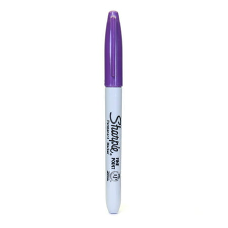 Sharpie Purple Fine Point Markers (Pack of 24) - Sharpie 24 Pack
