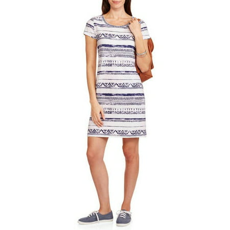 b2869021424 Faded Glory - Women s T-Shirt Dress - Walmart.com