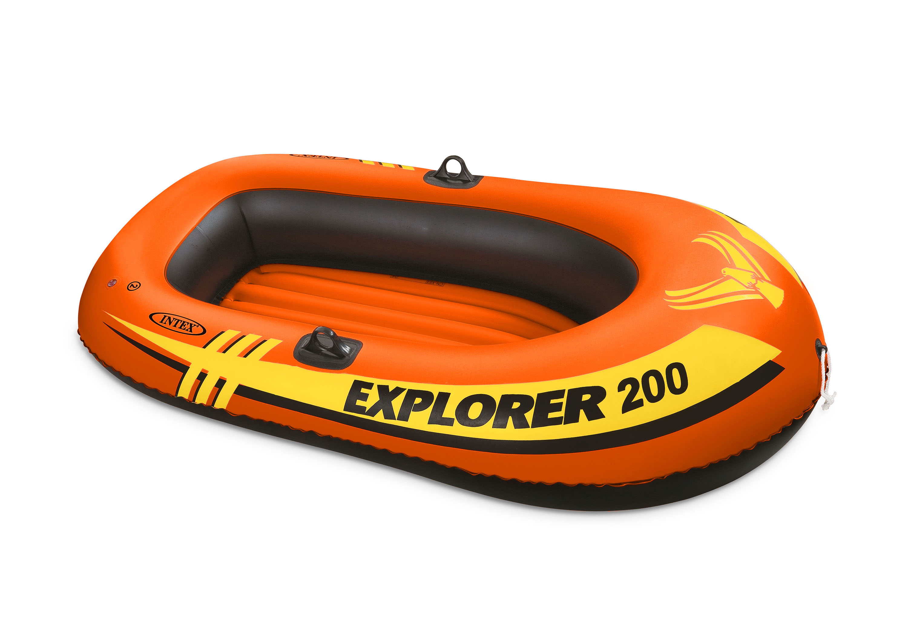 Intex Explorer 200 Inflatable 2 Person Capacity Pool & Lake Fishing Raft Boat by Intex