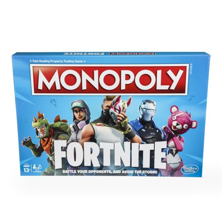 Monopoly: fortnite edition board game inspired by fortnite video game ages 13 and up for $<!---->