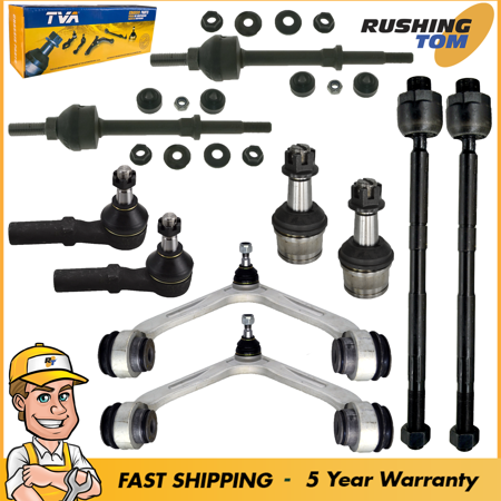 Front Suspension Kit 10Pc fits Dodge RAM 2500 3500 RWD 2003 To 2006