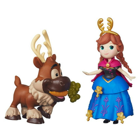 Disney Frozen Little Kingdom Anna and Sven - Anna Crown Frozen
