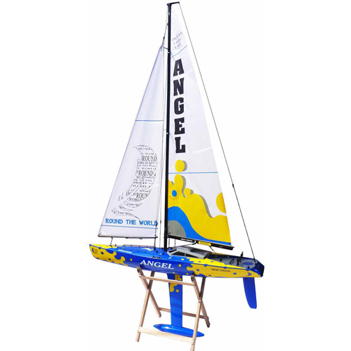 Shunbo Angel 920mm Rtr Rc Sailboat - Blu