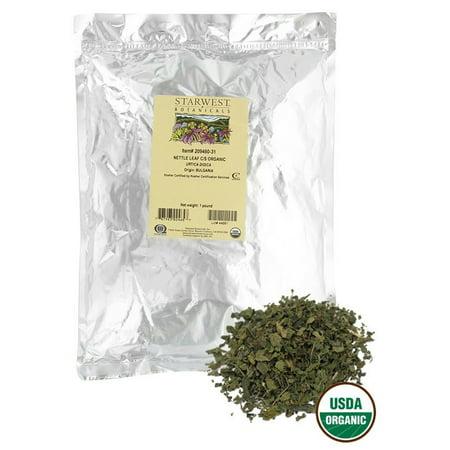 Starwest Botanicals - Bulk Nettle Leaf C/S Organic - 1 (Nettle Leaf Single)