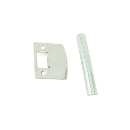 Privacy Knob Finish (Baldwin Reserve 8BR0707006 Passage / Privacy Knob / Lever Thick Door Kit Bright Chrome Finish )
