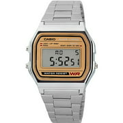 Men's Classic Digital Watch, Stainless Steel