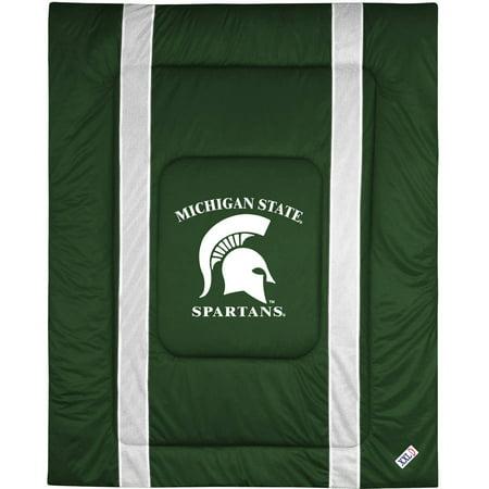 Ohio State Comforter - NCAA Michigan State Sidelines Comforter