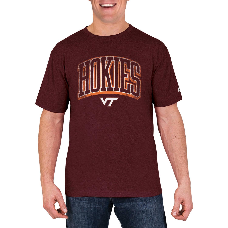 NCAA Virginia Tech Hokies Men's Cotton/Poly Blend T-Shirt