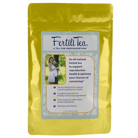 FertiliTea: Organic Fertility Tea, 60 Servings, Contains Vitex (Fertilitea Tea)
