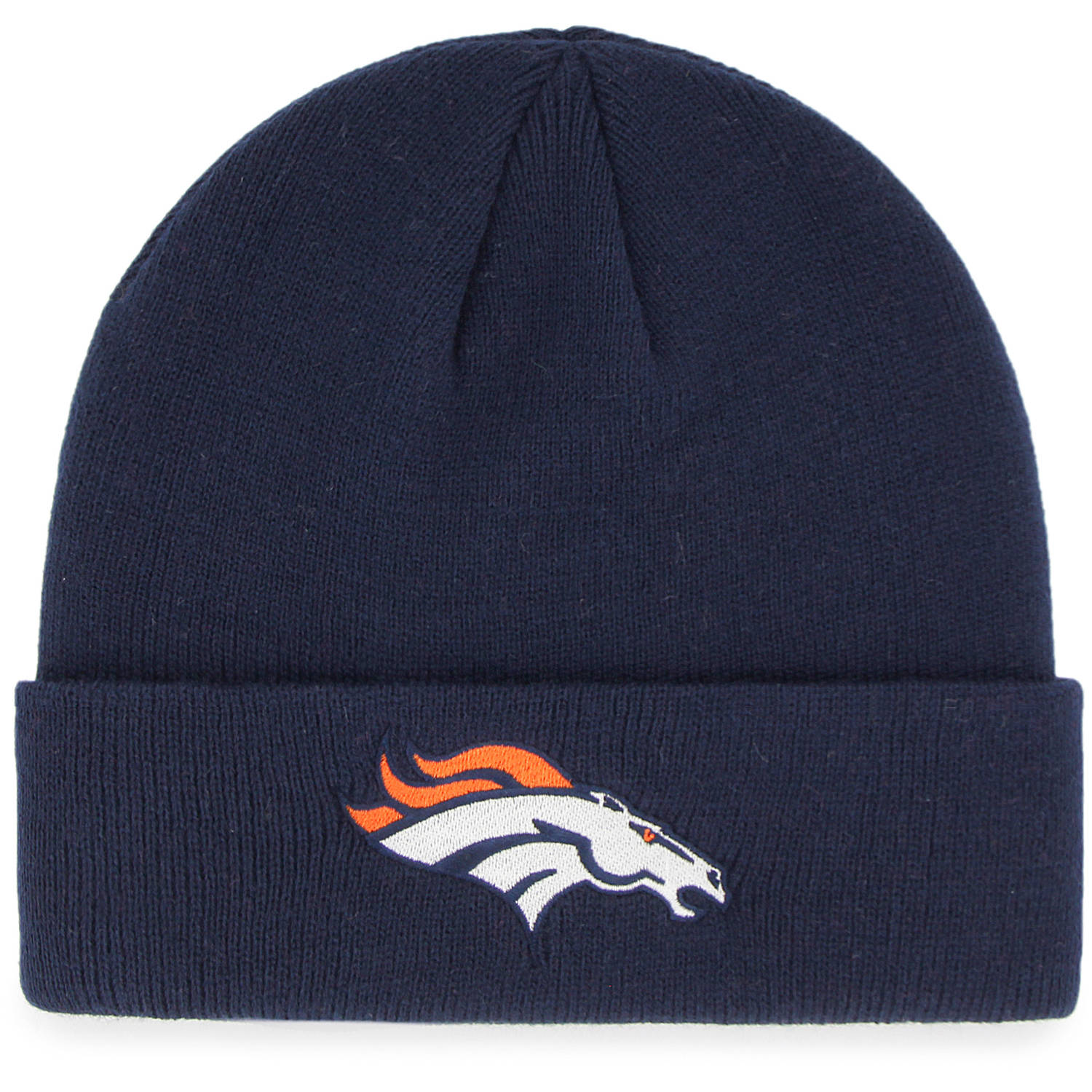 NFL Denver Broncos Mass Cuff Knit Cap - Fan Favorite