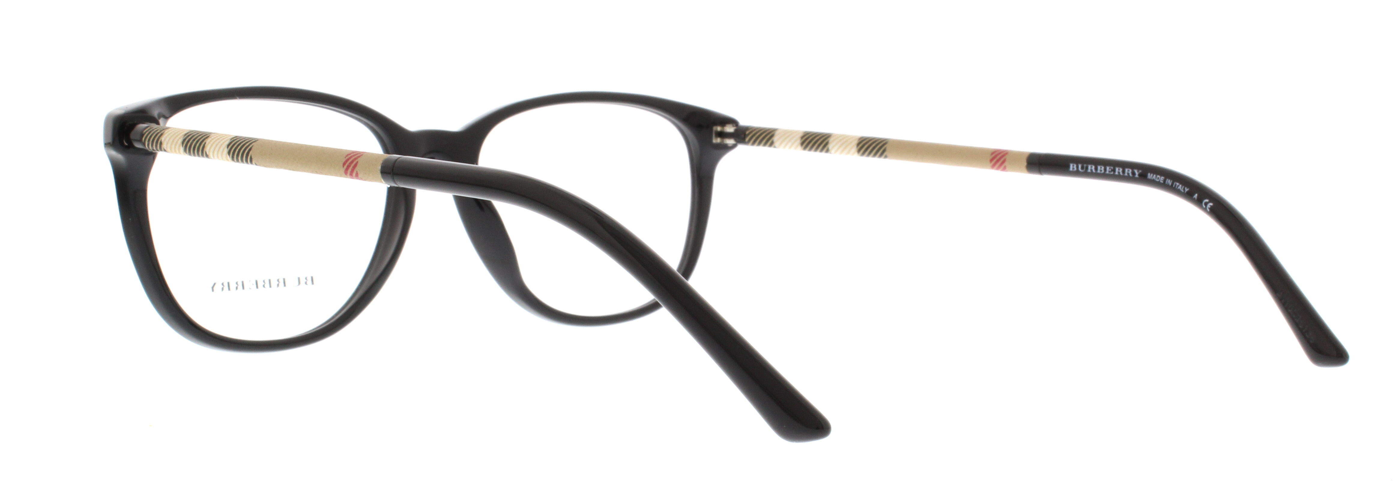 08353ff0770f BURBERRY Eyeglasses BE2112 3001 Black 52MM - Walmart.com