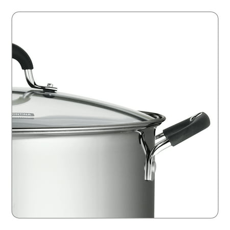 Tramontina 22 Quart Stainless Steel Covered Stock Pot