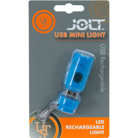 Ultimate Survival Technologies Jolt USB Mini Light, Blue, 25 Lumens