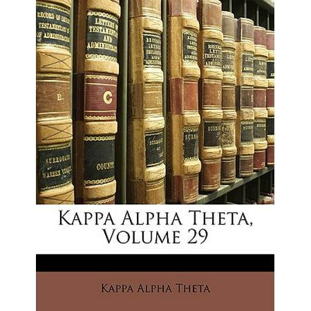 Kappa Alpha Theta, Volume 29