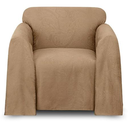 Belle Maison Alexandria Arm Chair Cover Walmart Com