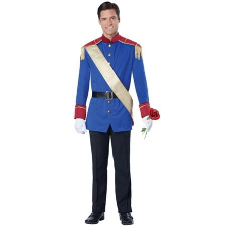 Royal Storybook Prince Men's Adult Halloween (Famous Children's Book Character Costumes)