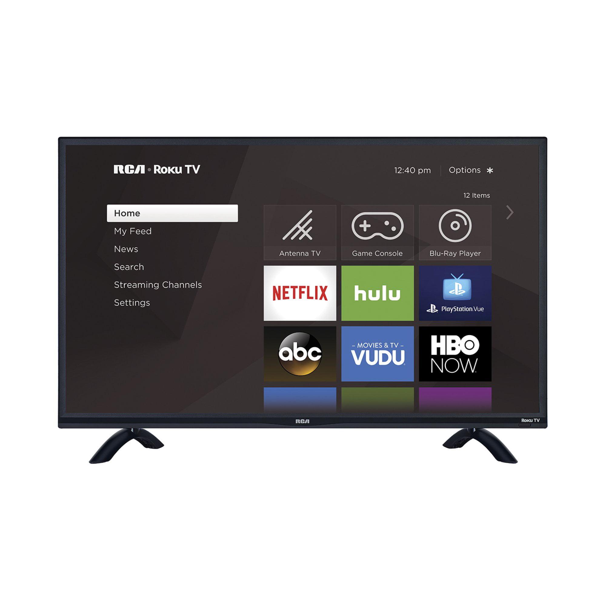 "RCA RTRU5527-W 55"" 4K Smart LED Roku UHDTV"
